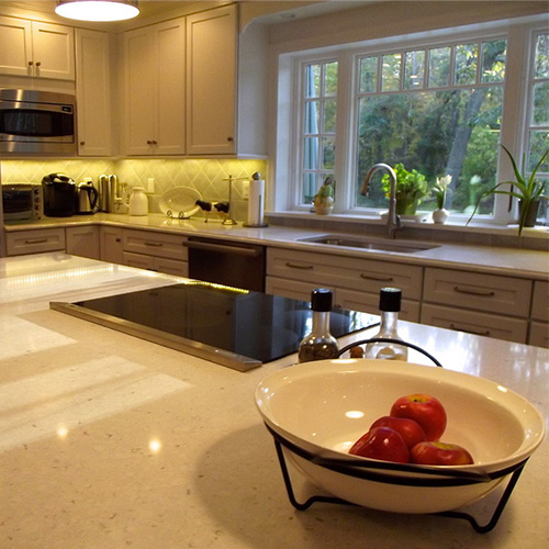 Silestone-Bianco-Rivers-keukenblad