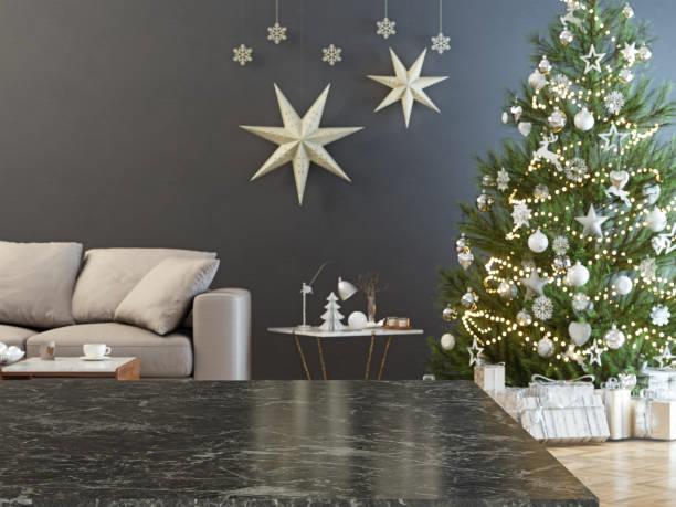Kerst-Natuursteen-Aanrechtblad